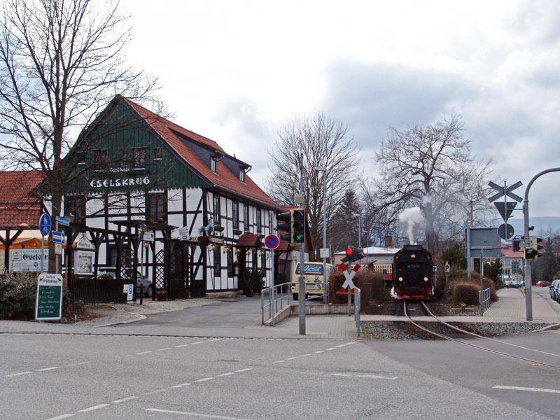 Gaststätte Eselskrug - aktuelle Ansicht