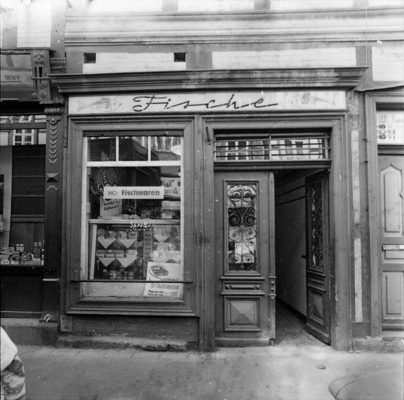 HO Fisch-Laden 1974, Foto: Dieter Möbius, mit freundlicher Genemigung des Stadtarchivs