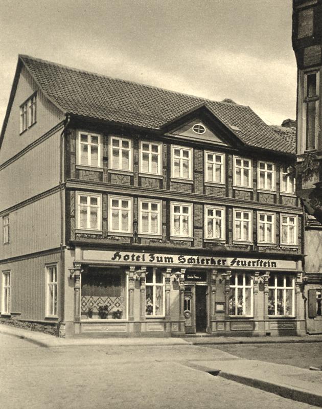 Hotel Zum Schierker Feuerstein, um 1940