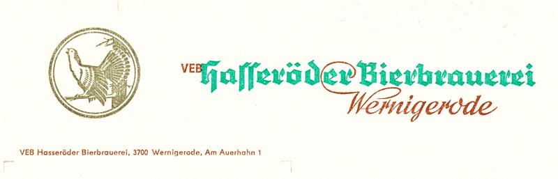 Briefkopf 80er Jahre