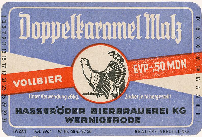 Etikett 50er/60er Jahre