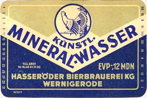 Etikett 50er - 60er Jahre