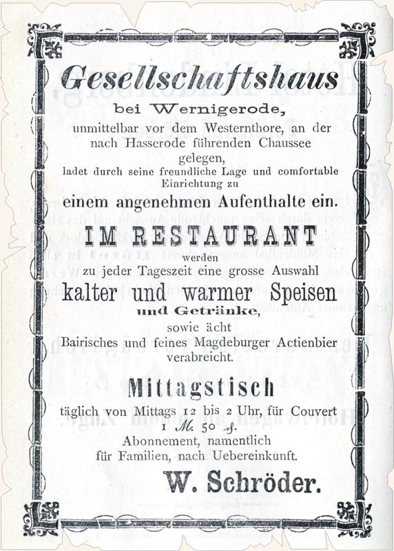 Anzeige 1877