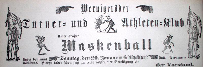 Anzeige 1889