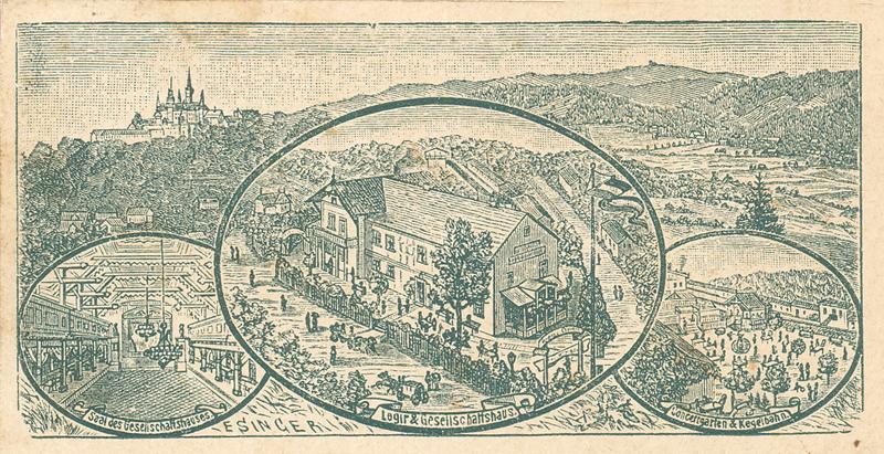 Ansichtskarte 1892