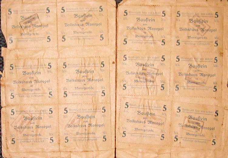 Bausteine Markenbuch 1922