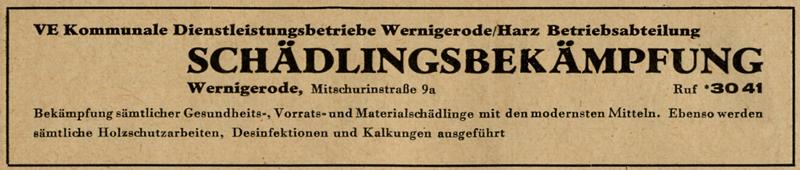 Anzeige 1959