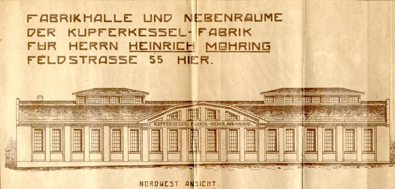 Bauzeichnung 1925, Bauarchiv der Stadtverwaltung