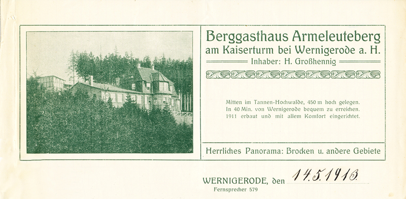Briefkopf 1913