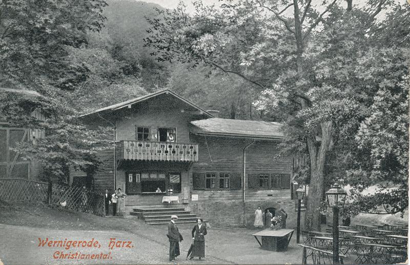 Ansichtskarte um 1928