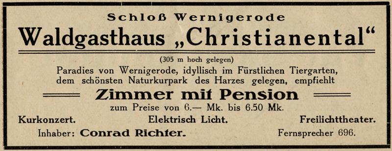 Anzeige 1939